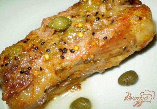 Рецепт Свинина с киви и каперсами