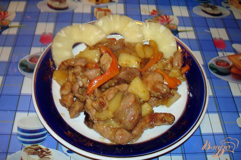 Фото приготовление рецепта: Мясо по-китайски шаг №6