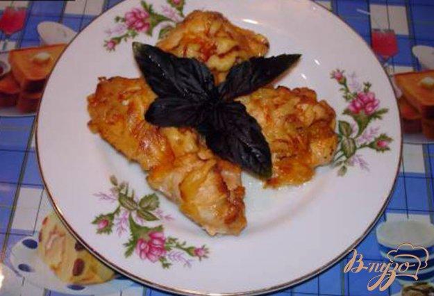 Рецепт Куриные рулетики с абрикосом