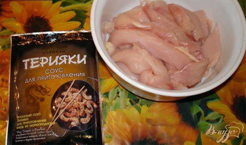 Фото приготовление рецепта: Курица в соусе Терияки шаг №1