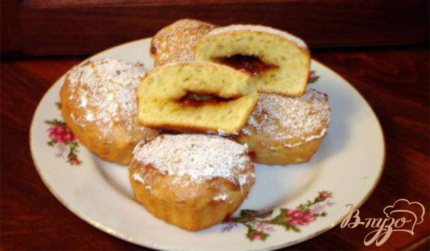 Рецепт Сметанные булочки с повидлом