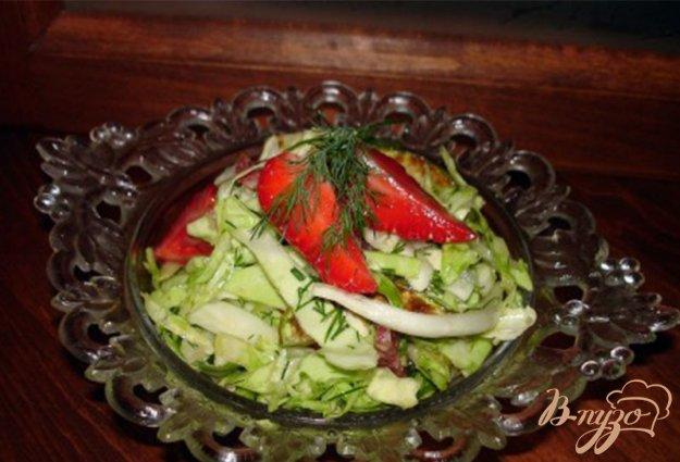 фото рецепта: Салат с ветчиной и кунжутом