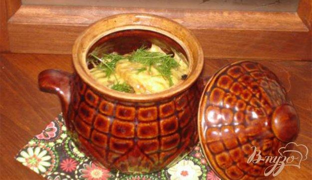 Рецепт Белорусские драники (деруны) в горшочках