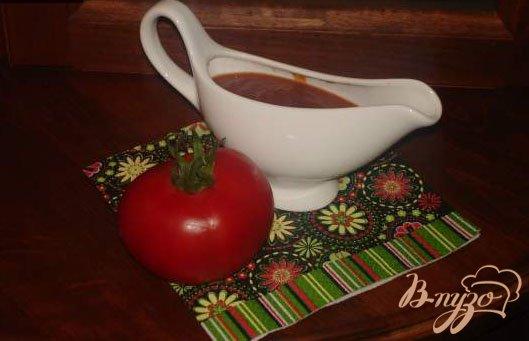 фото рецепта: Домашний томатный соус к мясу