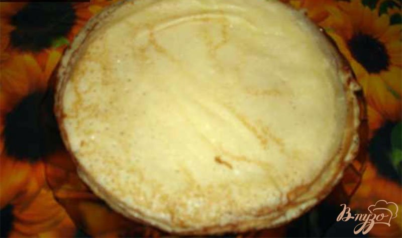 Фото приготовление рецепта: Тропические блинчики шаг №3