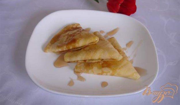 Рецепт Вкусные кукурузные блинчики с творожной начинкой и кумкватом