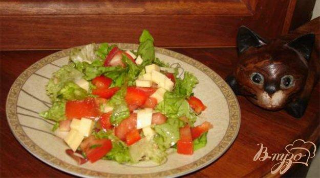 Рецепт Витаминный салат с сыром