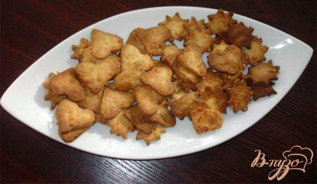 Рецепт Сырный домашний крекер