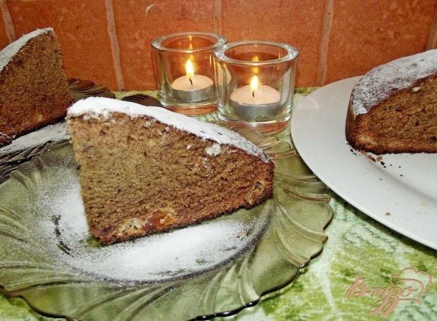 Рецепт Пирог финиковый с сухофруктами