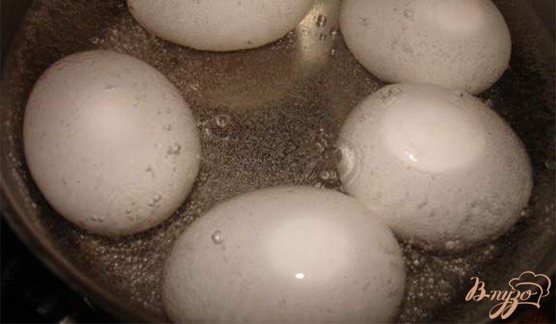 Фото приготовление рецепта: Яйца по-сардски шаг №1