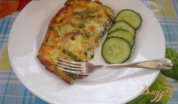 фото рецепта: Фритата с колбасками и овощами