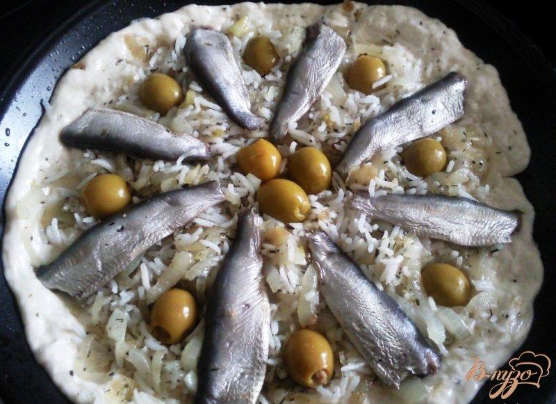 Фото приготовление рецепта: Писсаладьер шаг №2