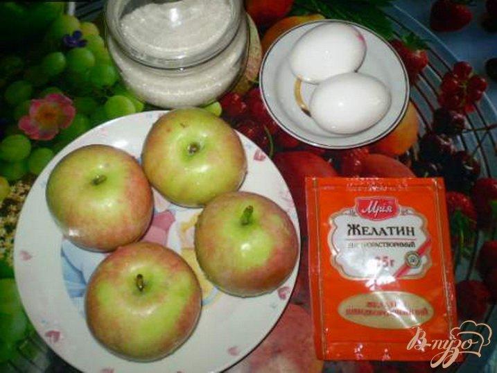Фото приготовление рецепта: Яблочный самбук шаг №1