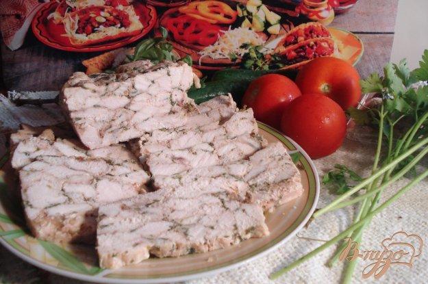 фото рецепта: Мраморное куриное филе