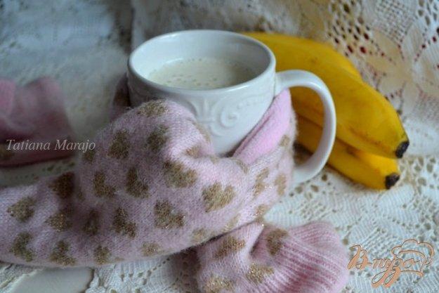 Рецепт Банановое молоко с медом