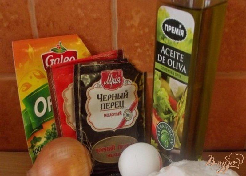 Фото приготовление рецепта: Украинские котлеты с салом и чесноком шаг №1