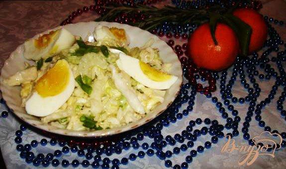 Рецепт Быстрый салат из капусты с сельдереем