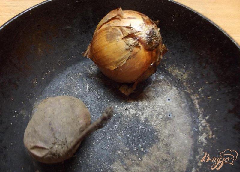 Фото приготовление рецепта: Свекольник на курице шаг №4