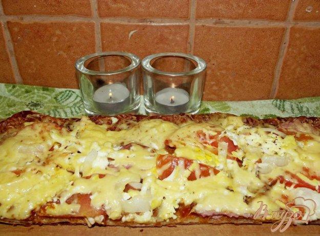 Рецепт Домашняя мясная пицца с яйцом