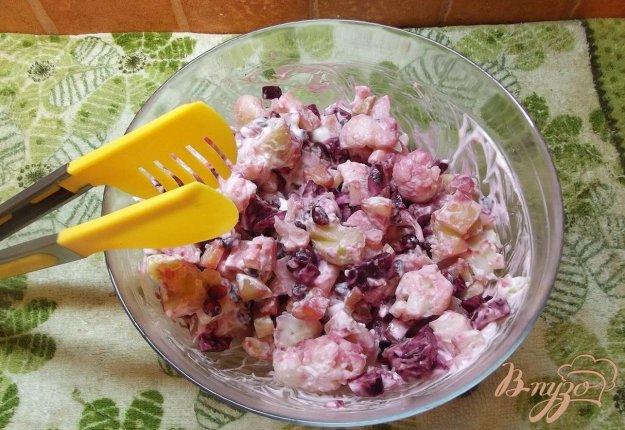 Рецепт Картофельный салат с гранатом
