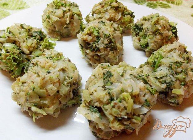 Рецепт Паровые овощные котлеты