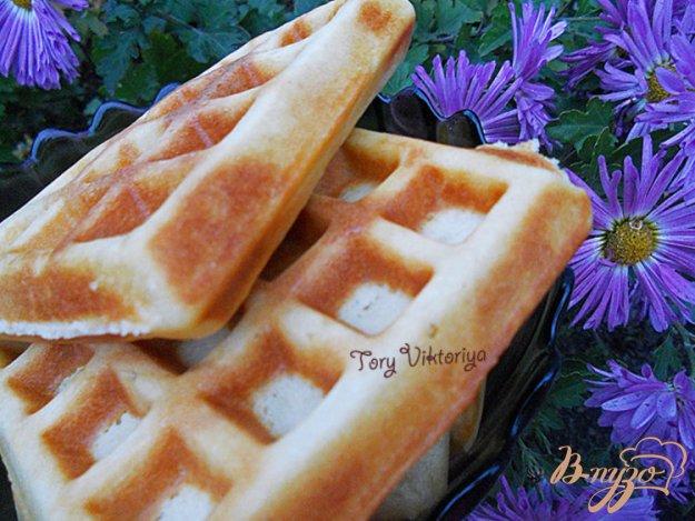 фото рецепта: Бельгийские вафли
