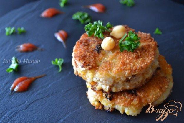 Рецепт Рыбные биточки с горохом нут