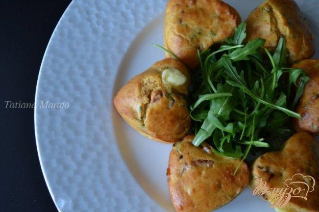 Рецепт Закусочные кексики с сыром и ветчиной