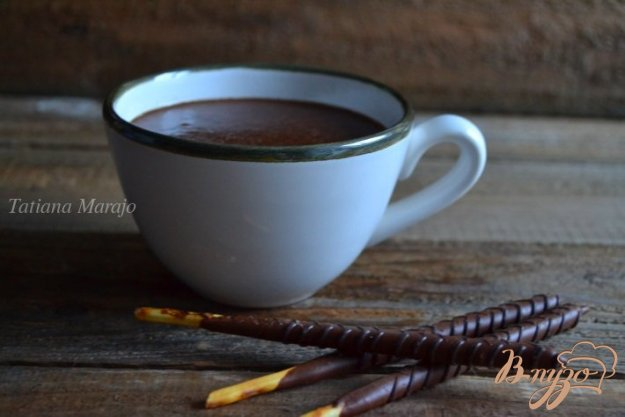 Рецепт Горячий шоколад на кокосовом молоке