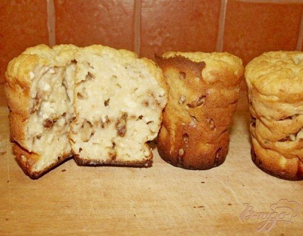 Рецепт Кексы творожные с орехами