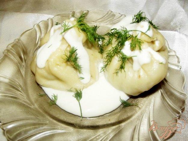 Рецепт Ленивые манты с бараниной