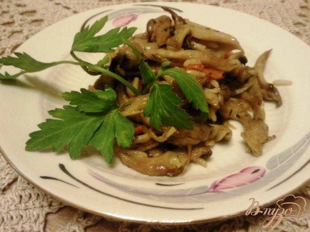 фото рецепта: Рис с вешенками