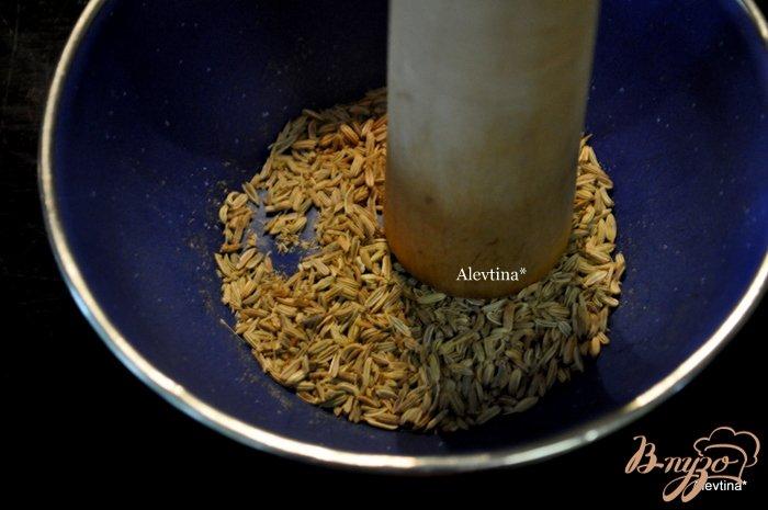 Фото приготовление рецепта: Стейк маринованный с фенхелем и розмарином шаг №1
