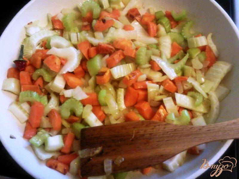 Фото приготовление рецепта: Овощной суп пюре с грибами шаг №1