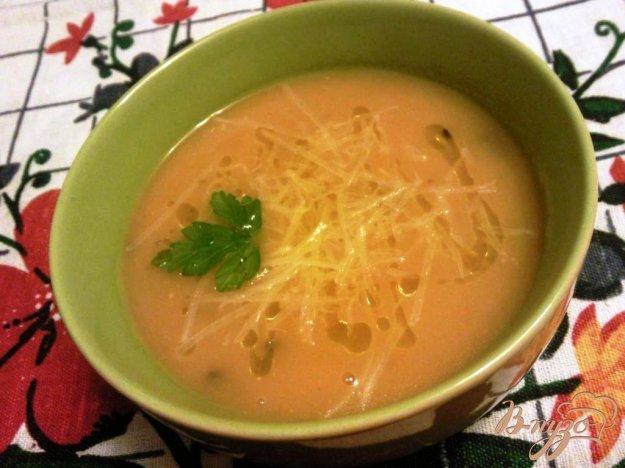 Рецепт Овощной суп пюре с грибами