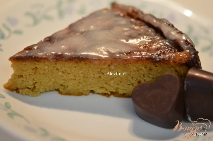 Фото приготовление рецепта: Апельсиовый кекс по-домашнему шаг №9