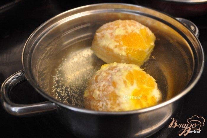 Фото приготовление рецепта: Апельсиовый кекс по-домашнему шаг №4