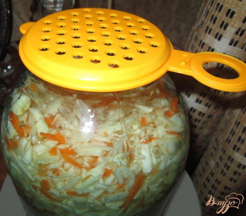 Фото приготовление рецепта: Квашеная капуста шаг №5