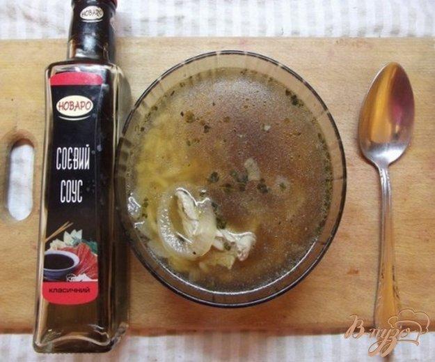 фото рецепта: Суп с соевым соусом