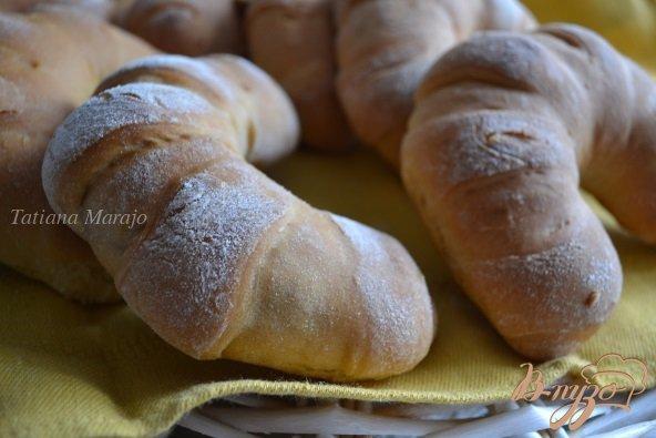 Рецепт Рогалики из сдобного теста с абрикосовой начинкой