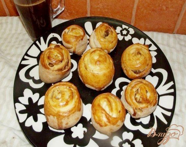 Рецепт Булочки с корицей и изюмом