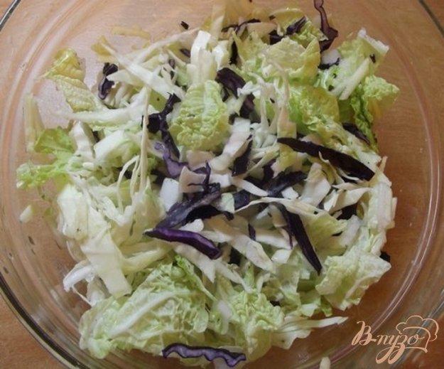 Рецепт Капустный салат с яблоком