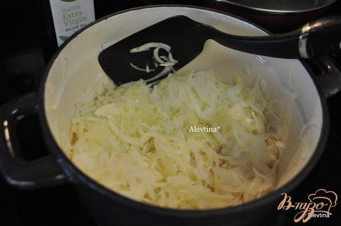Фото приготовление рецепта: Грибной суп с шиитаке и шампиньонами Белла шаг №2