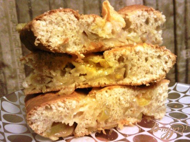 Рецепт Пирог с яблоками и мандаринами