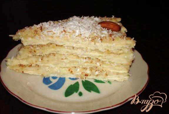 Фото приготовление рецепта: Торт Рафаэлло шаг №4