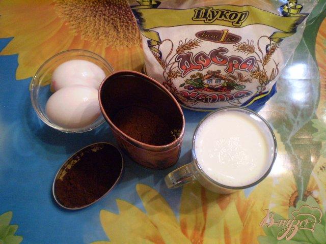 Фото приготовление рецепта: Мороженое со вкусом натурального кофе шаг №1