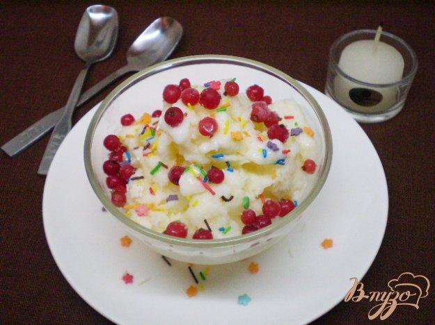 Рецепт Молочное мороженое