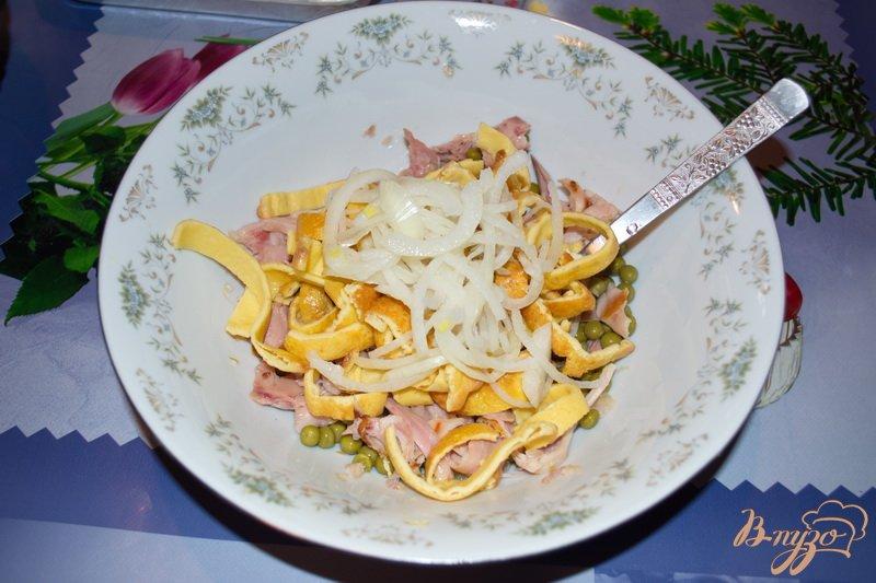 Фото приготовление рецепта: Салат Праздничный шаг №7