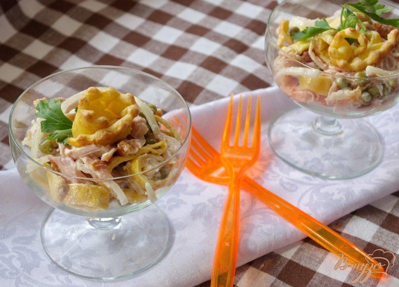 Фото приготовление рецепта: Салат Праздничный шаг №8