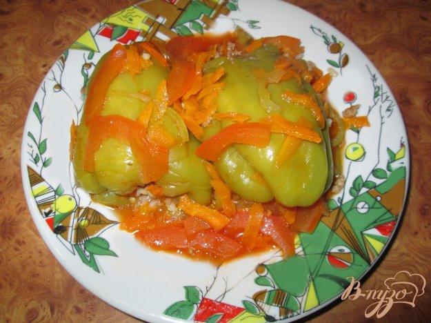 Рецепт Фаршированные болгарские перцы под томатным соусом